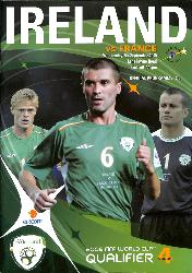 PROGRAMME OFFICIEL DU MATCH RÉP. D'IRLANDE VS FRANCE DU 7 SEPTEMBRE 2005