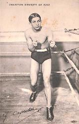 Carte postale de Georges Carpentier.