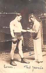 Carte photo de Primo Carnera.